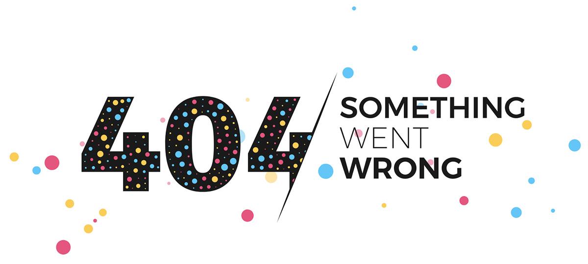 Lỗi 404 - không tìm thấy trang